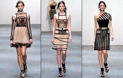 Christopher Kane Fashion Show - Fall / Winter 2009-2010