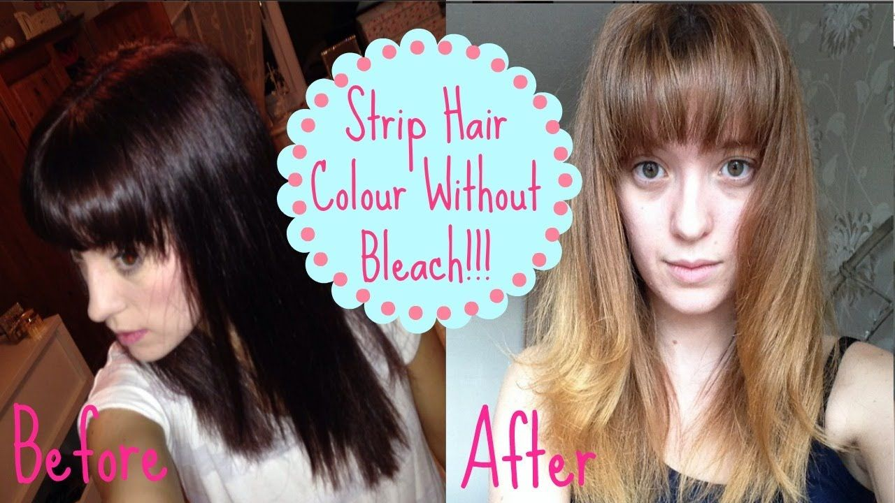 How To Remove Colour Without Bleach How I Got From Dark To Light Using I Love This Girls Accent Hair Color Dark Hair Color Hair Color Remover