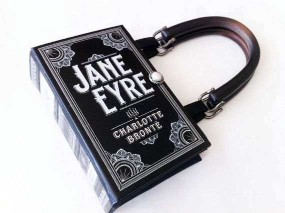 jane eyre book purse jane eyre book clutch pocket book handbag rh pinterest com