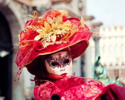 Venetian Mask - Mask, Color, Red, Carnival, Venetian Carnival, Carnival Mask, Venetian Mask, Red Color, Red Color Abstract