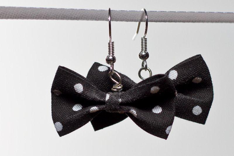 Schleifen-Ohrringe von annope auf DaWanda.com