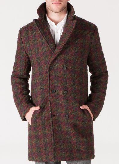 Moyers Coat - Burgundy