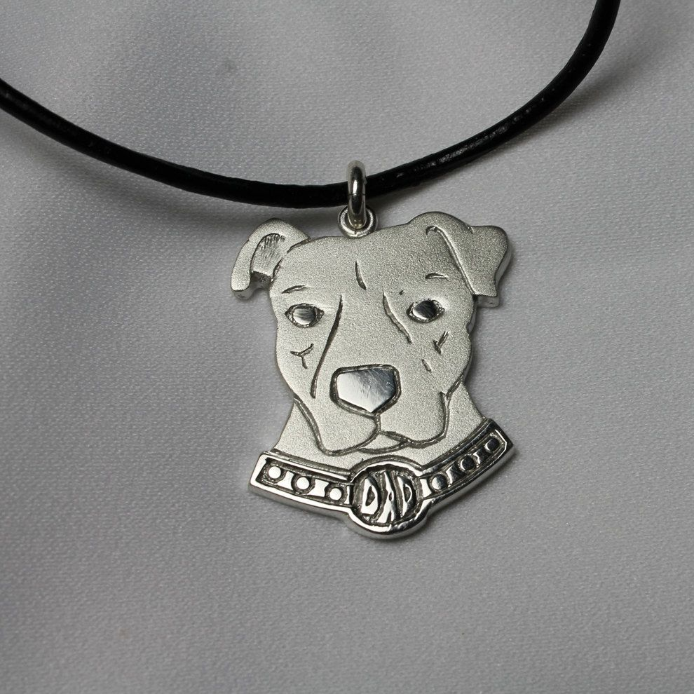 Pit Dad necklace by SomethingFine on Etsy, $125.00
