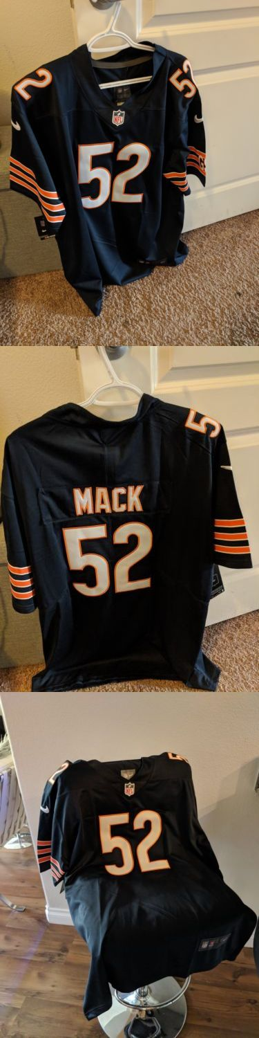 huge discount 36339 64b04 Clothing 21218: Khalil Mack Bears Nike Home Jersey, New With ...