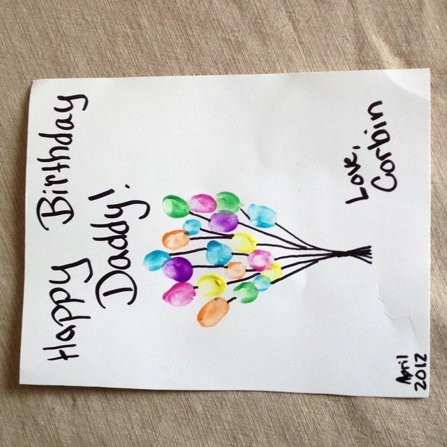Craft Ideas For Dads Birthday 1 Dad Birthday Card Homemade Birthday Cards Happy Birthday Crafts