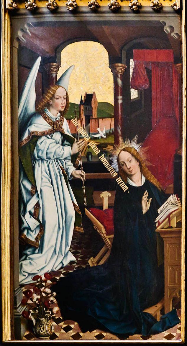 1446 | Friedrich Herlin |Retábulo dos doze apóstolos (volante esquerdo) | Igreja de Santiago, Rothenburg