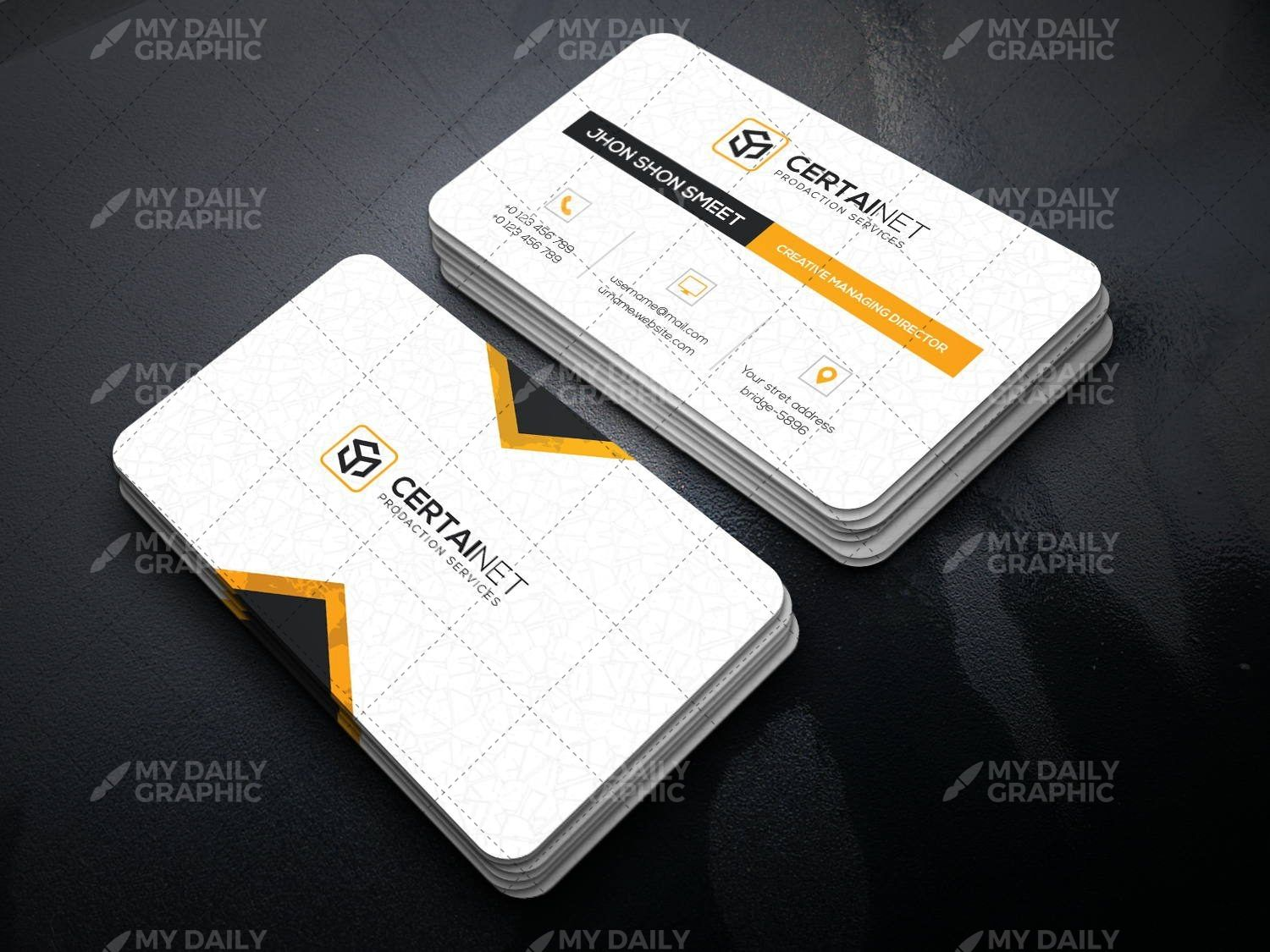Smart Organized Printable Business Card Design is part of Business Organization Printables - Size 44 9MB Format PSD Print Dimension 3 5  x 2  Resolution 300 DPI Files 8 PSD Files Styles 4