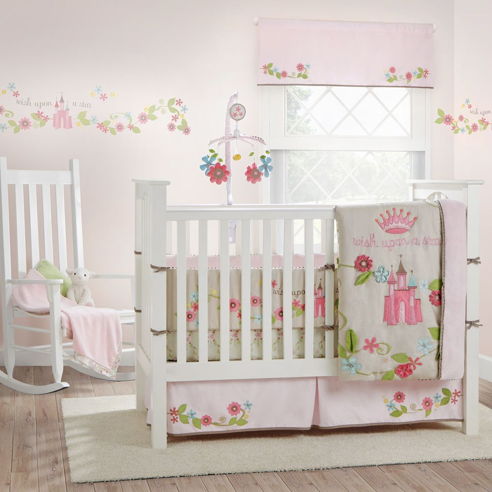 Image Detail For Migi Princess Baby Crib Bedding Set: baby girl bedding