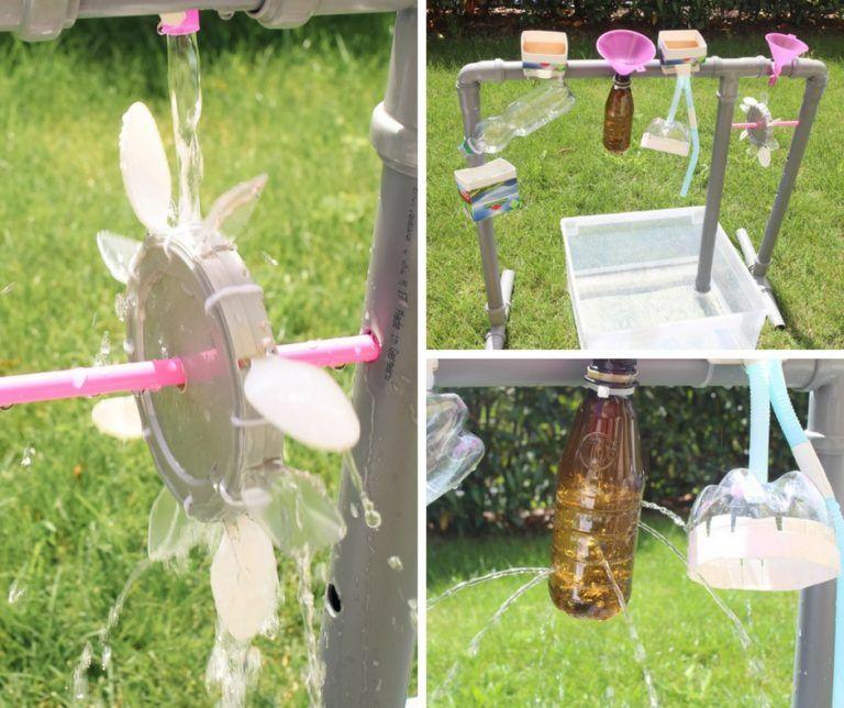 Wasserspiel für draußen: Wasserrad selber bauen - Paula ...