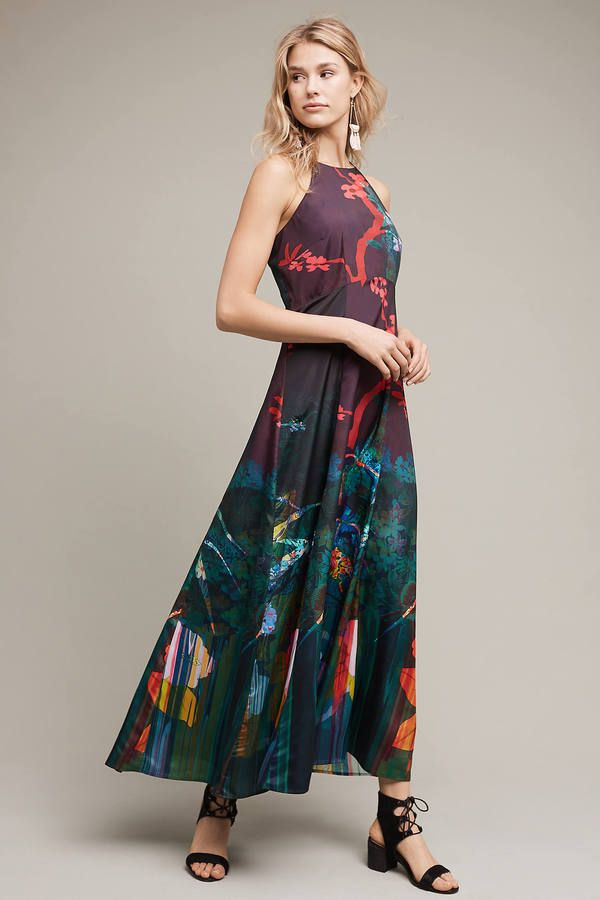 Moulinette Soeurs Cadence Printed Maxi Dress  60fb1e3d2a8