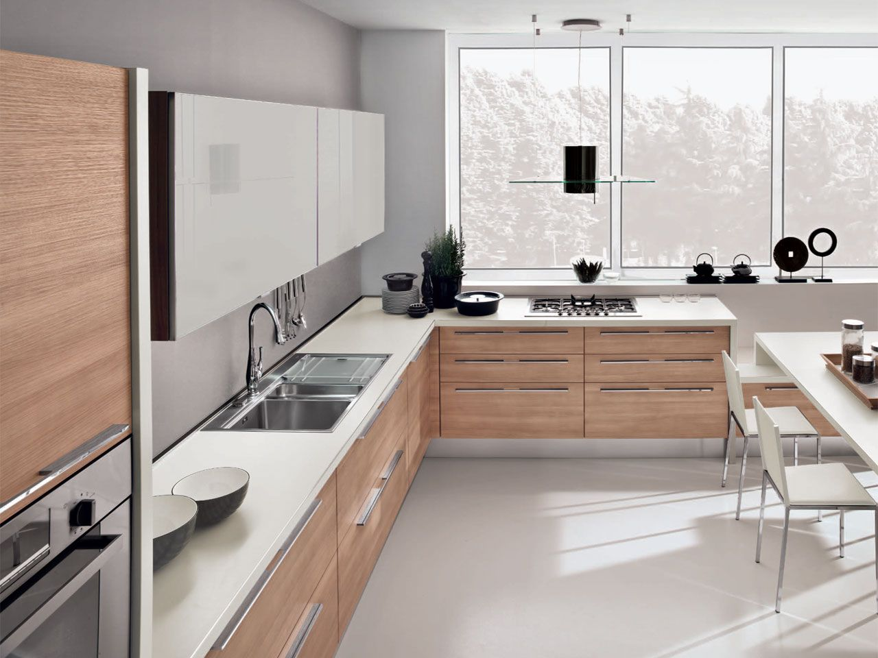 Noemi  Kitchens  Cucine Lube  Cucine openspace