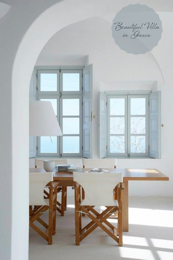 Beautiful Casual Dining Room  One Room Interior Idea