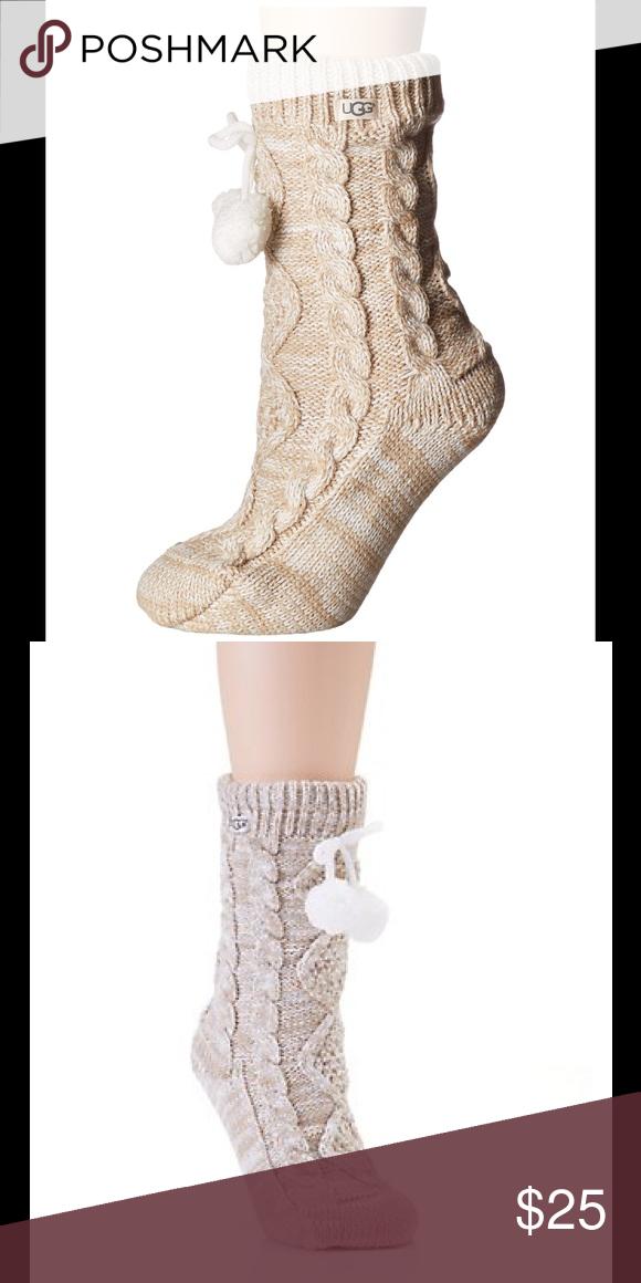 71bdce07f16 UGG slipper sock NWT Women's fleece lined cozy socks. New with tags ...