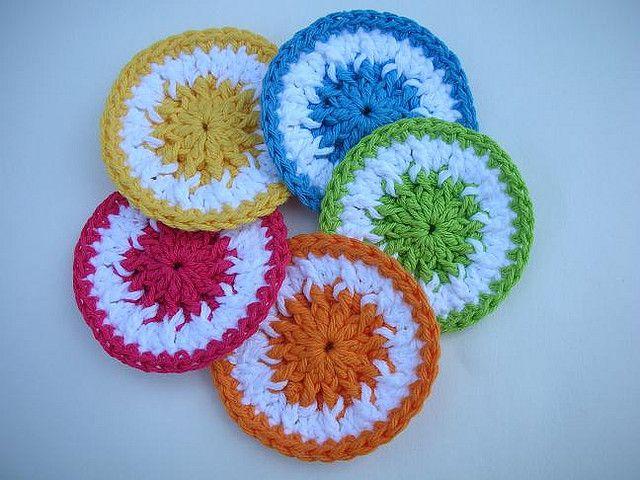 Scrubbie Dots Kitchen Scrubbie Crochet Pattern - FREE | Crochet ...