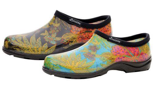 Women S Rain Garden Shoes Midsummer Blue Gardening Shoes