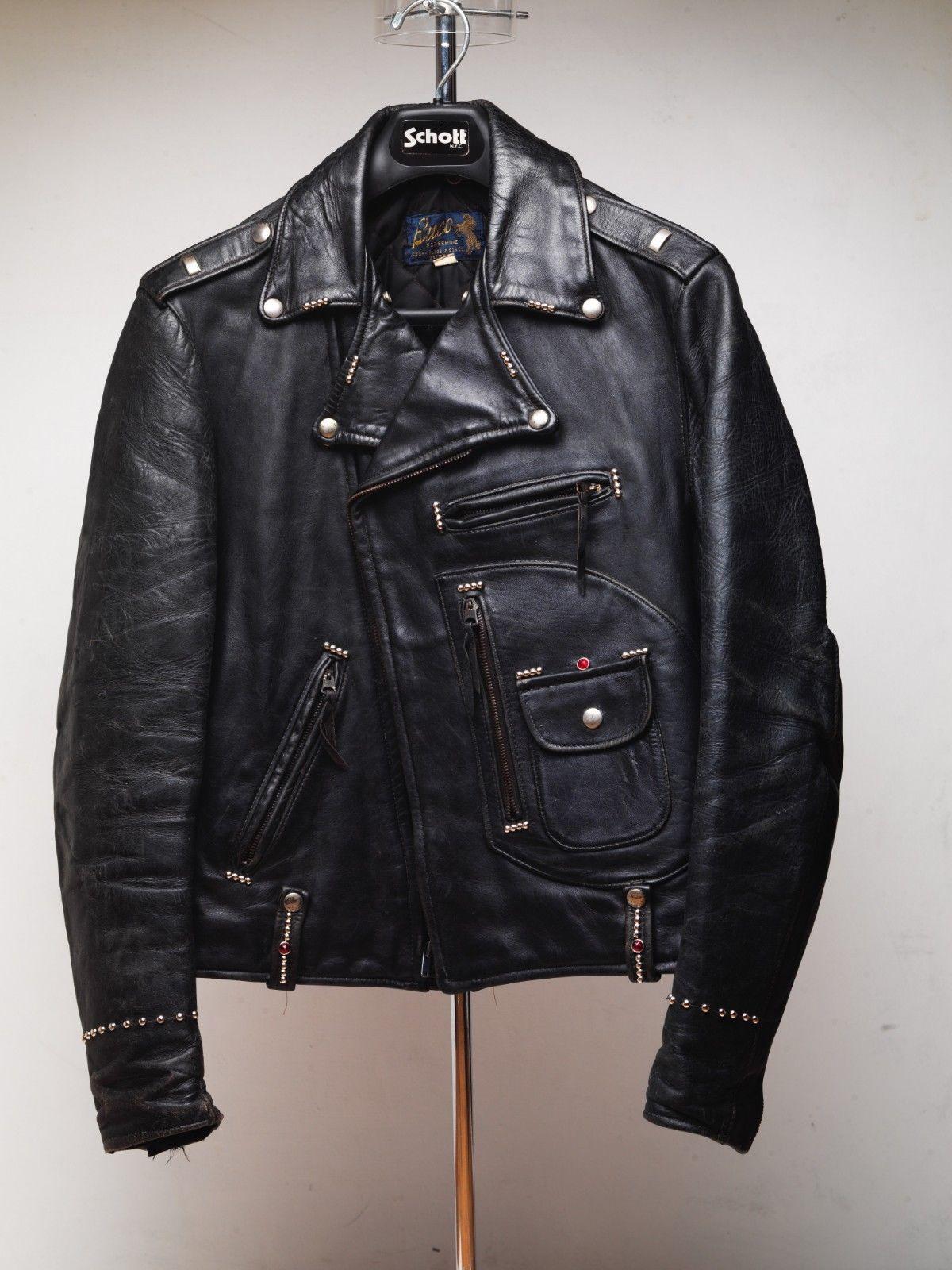 Vintage Buco J 24 Horsehide Leather Jacket 40 Motorcycle D Pocket 1950 S Ebay Jackets Leather Jacket Motorcyle Jacket [ 1600 x 1200 Pixel ]