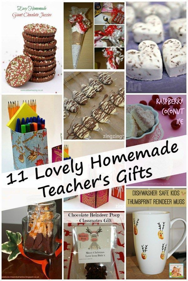 11 lovely homemade teachers gifts