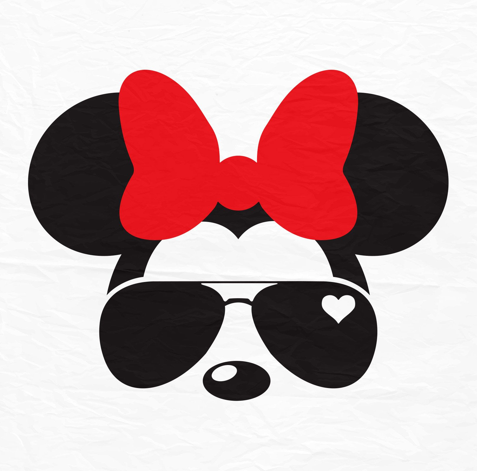 Disney Mickey Minnie Mouse Aviators Sunglasses Icon