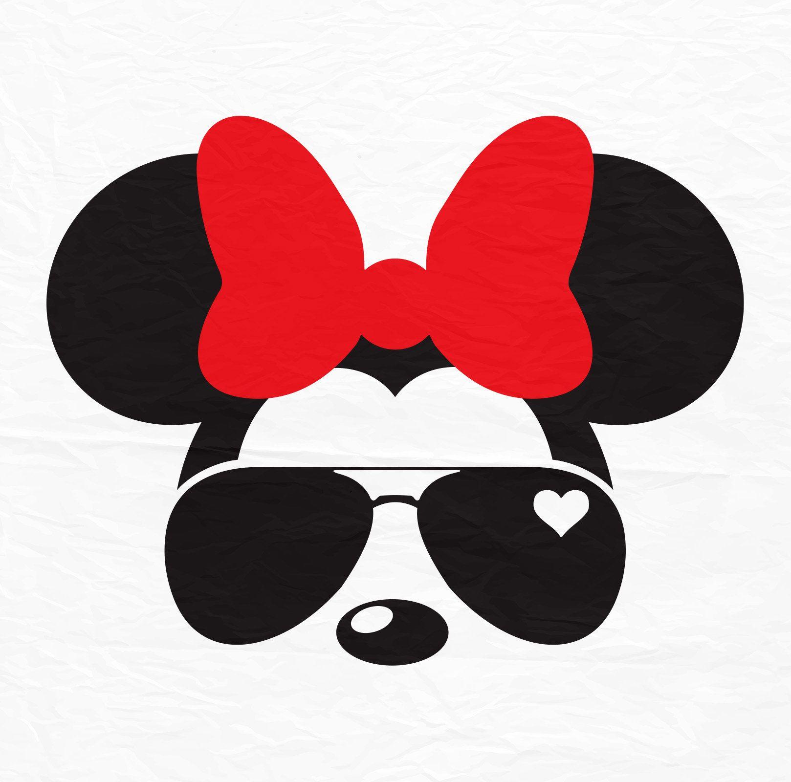 Disney Mickey Minnie Mouse Aviators Sunglasses Icon