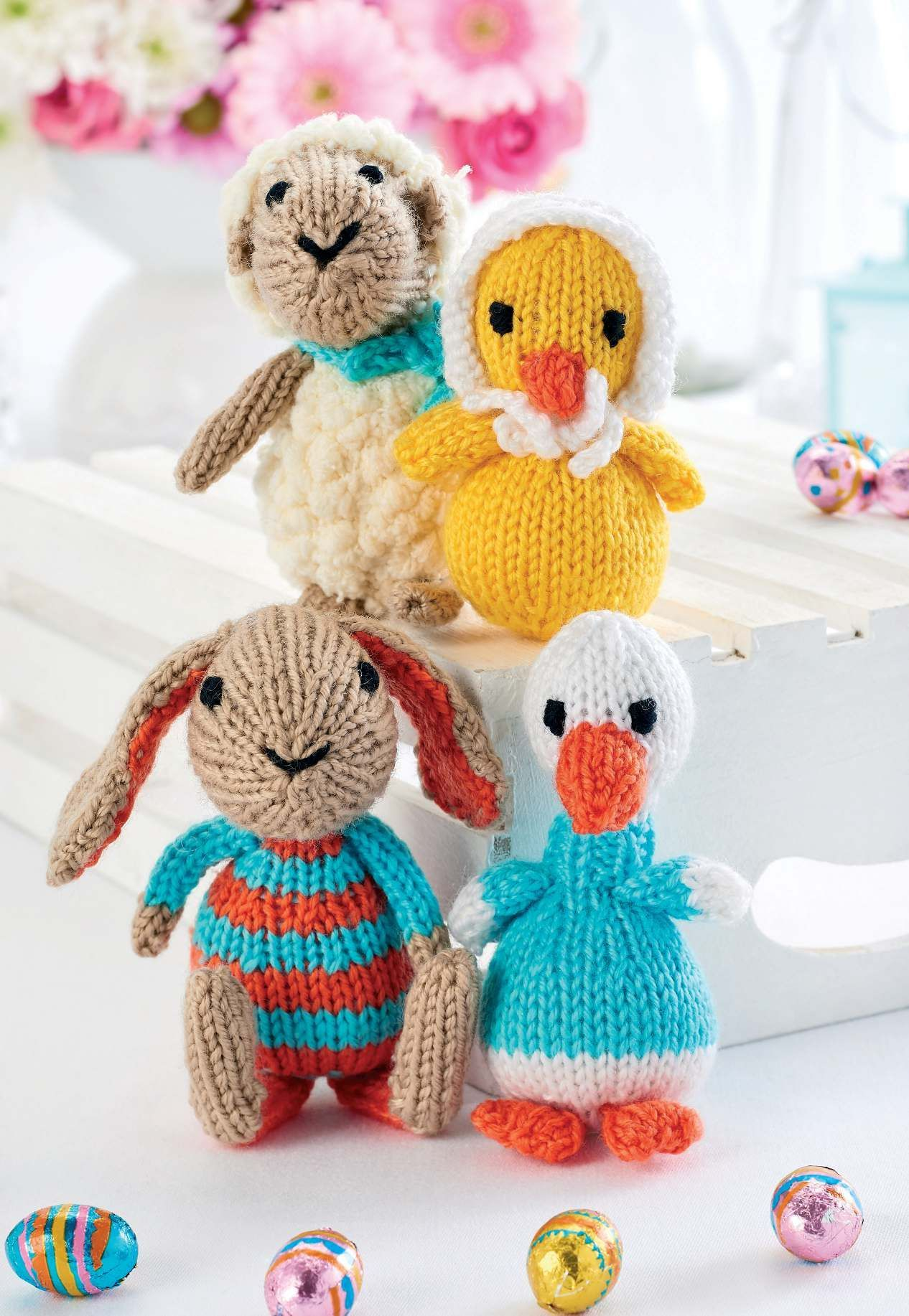 Quick Knit Easter Toys FREE Pattern