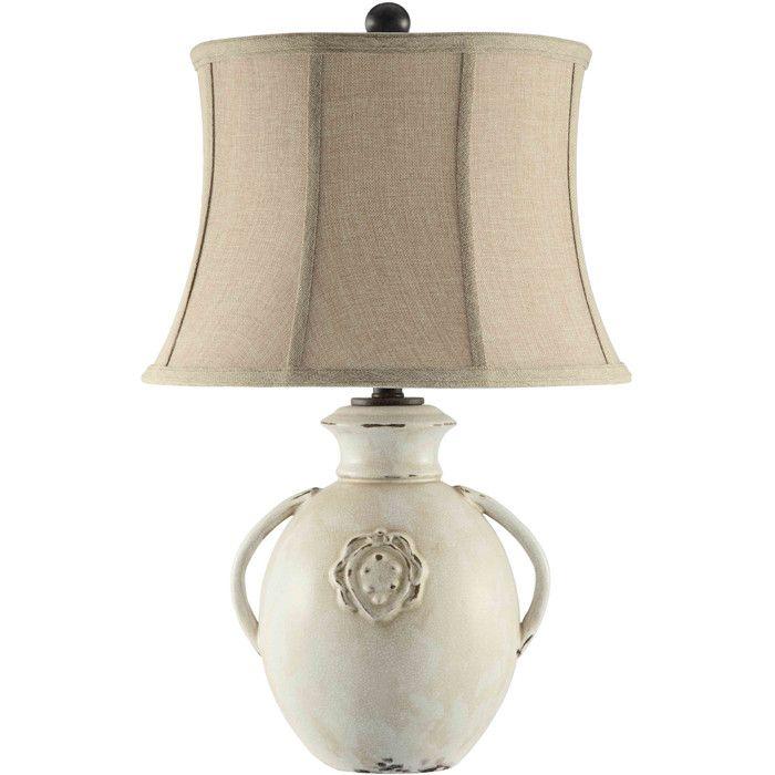 Cassandra ceramic table lamp h x d