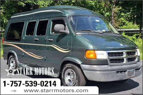 1999 Dodge Ram Van 1500 109 Wb Conversion Green Used Cars Dodge Ram Van Van