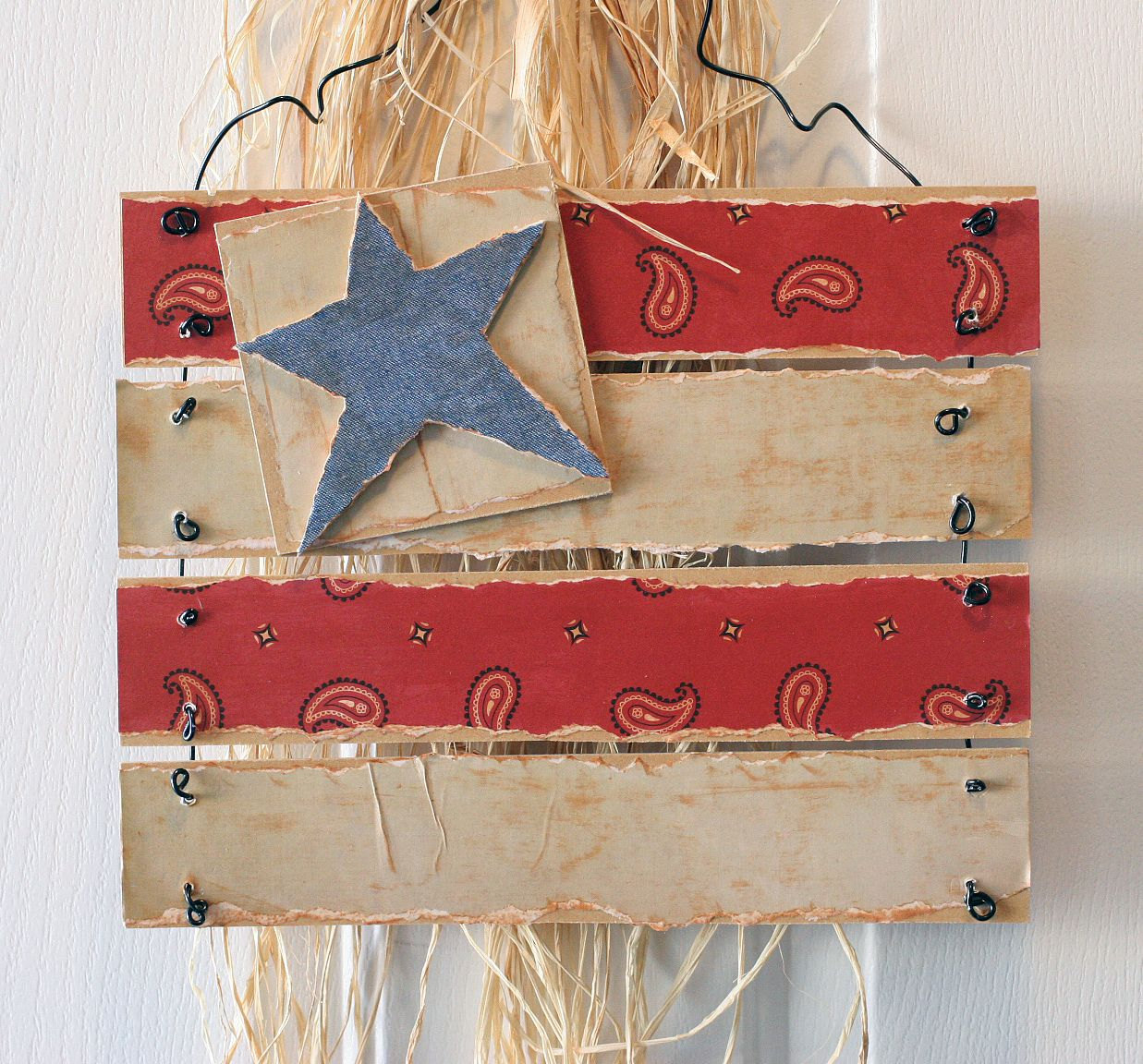 Discount Home Decor Catalogs: Americana Flag - 4th Of July Wood Crafts