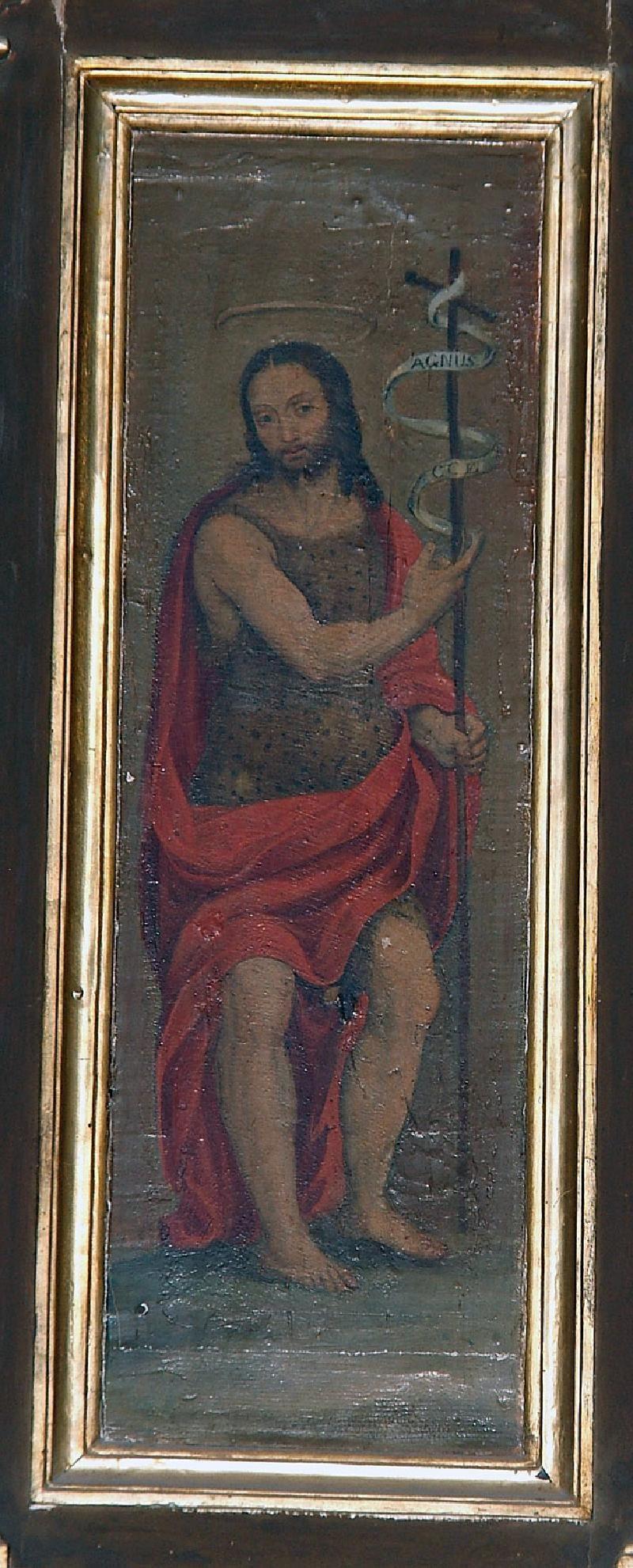 Nucci Benedetto e Baldinacci Pietro Paolo - San Giovanni Battista - 1549-1550 - Museo diocesano di Gubbio