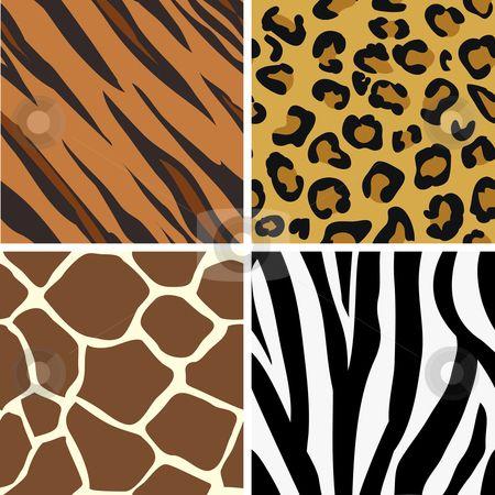 Seamless Tiling Animal Print Patterns Animal Prints Pattern