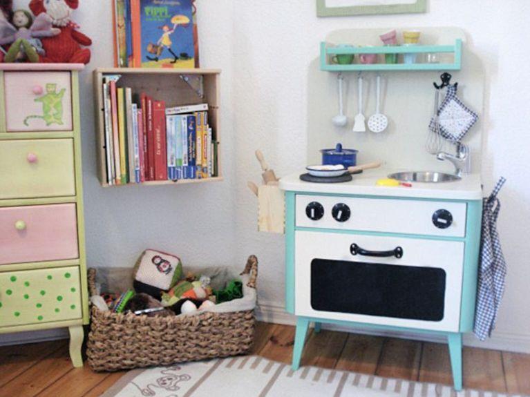 Bauanleitung Outdoor Küche Kinder : Diy anleitung: kinderküche aus einem alten nachtschrank selber bauen