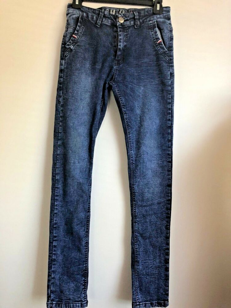 097e64c7 BOYS Fashion Kids Jeans SLIM Boys Size 16y Regular Adjustable Waist ...