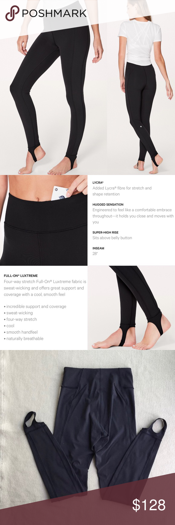 fff279dd1e4833 NWT❤️Lululemon Hold on Tight Stirrup Leggings Luon ❤️Sold Out Everywhere!!  Don't miss out on these booty POPPIN magic stirrup leggings!
