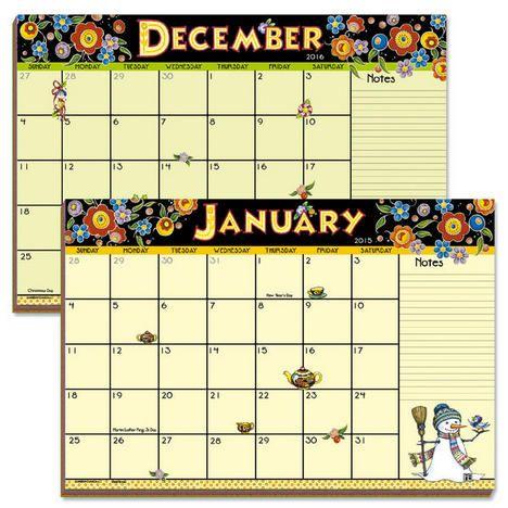 calendar stuff 2016 calendar mary s 2015 pad 9 print printables desk ...