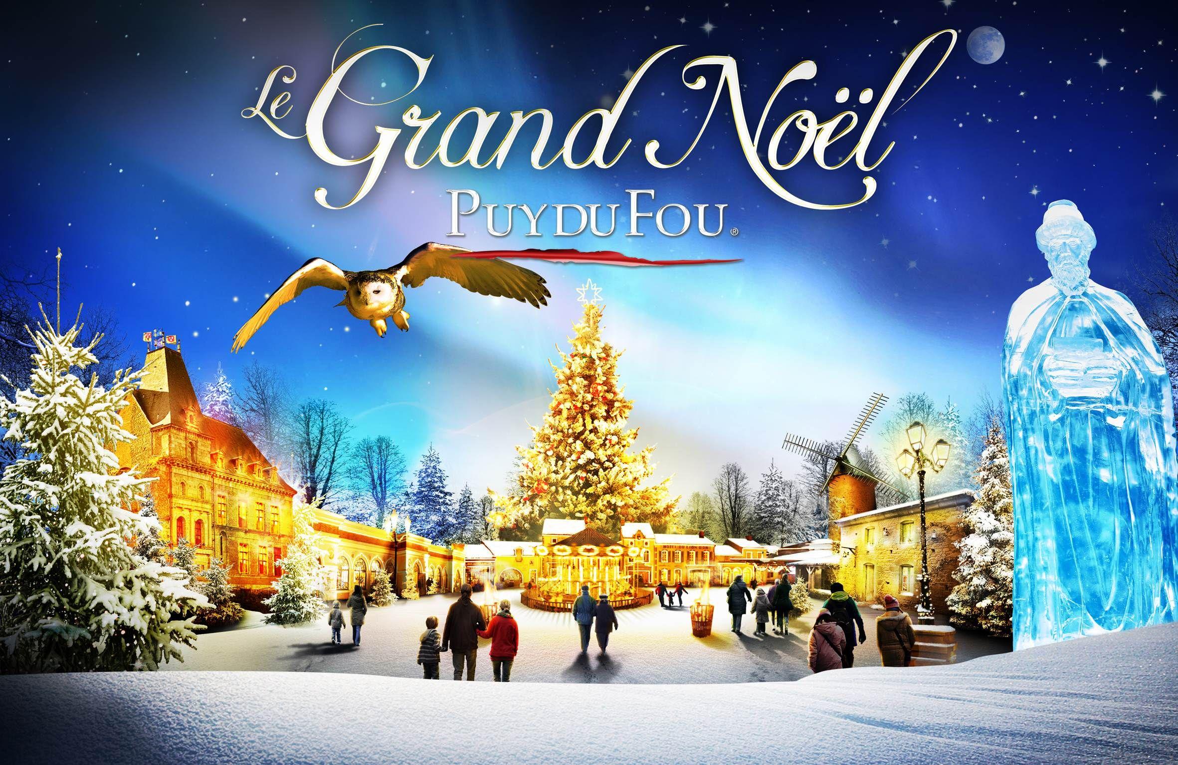 le grand noel du puy du fou Le Grand Noël démarque au Puy du Fou dès le 29 Novembre  le grand noel du puy du fou