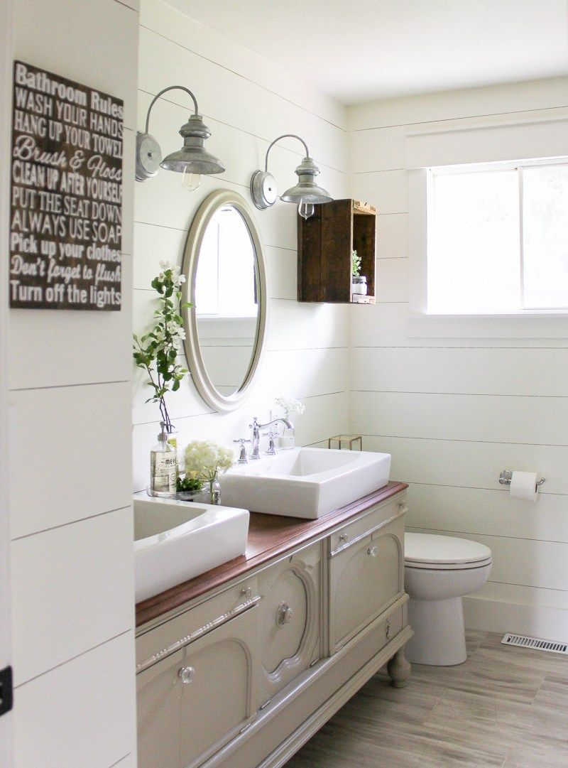 6 Ways Shiplap can Transform Any Room | Fixer upper shiplap, Laundry ...
