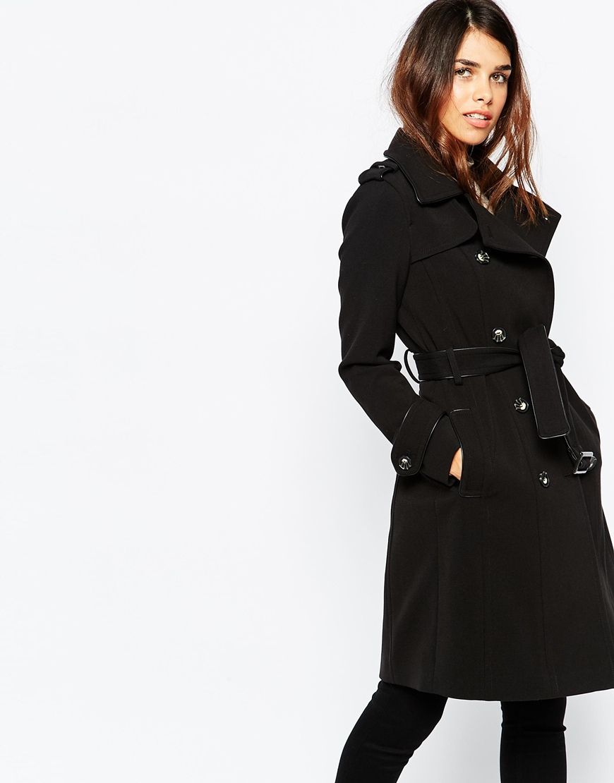 Image 1 of Warehouse Double Breasted Trench Coat | Wish List (Fall ...