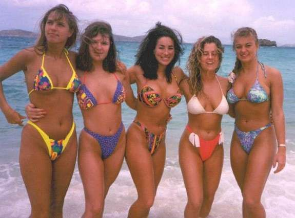 Costumi Da Bagno Anni 80 : L evoluzione dei costumi da bagno bikini anni e beach