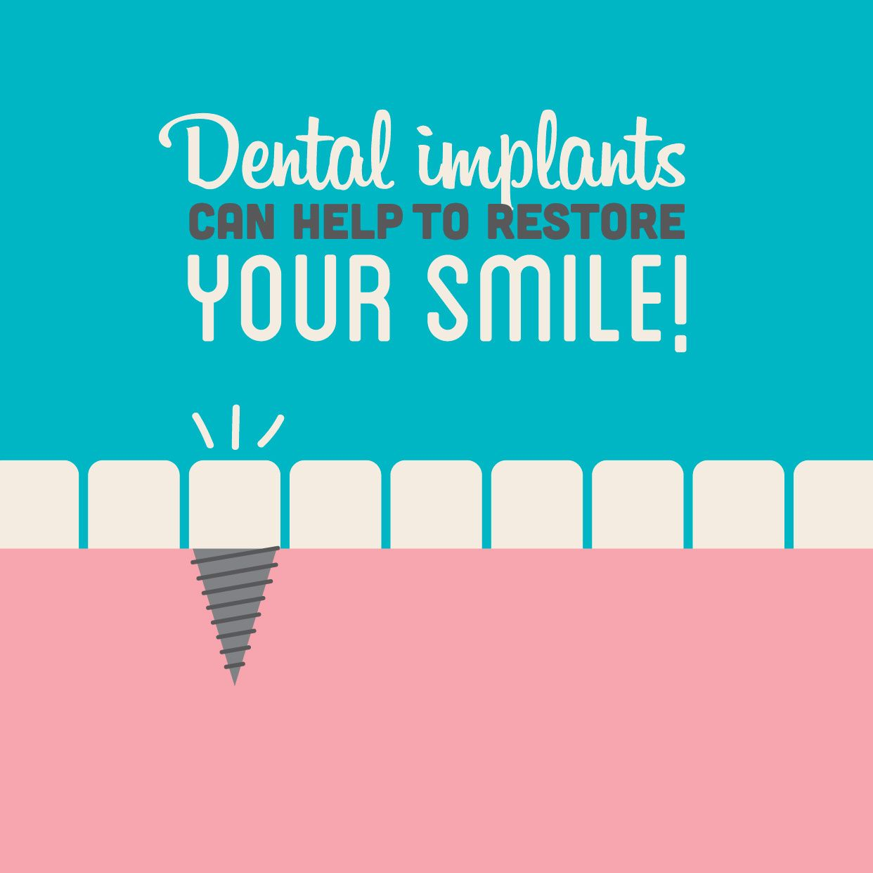 Dental Fact: 69% of adults, ages 35-44, have lost at least one permanent tooth…