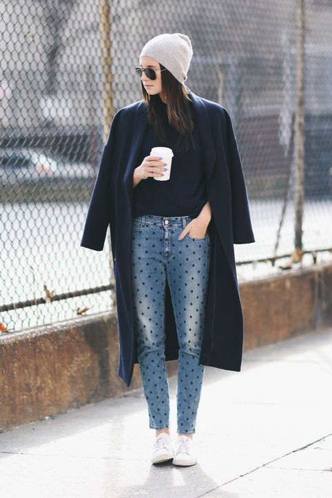 b82c3672c0 15 Stylish and Easy Ways to Wear Your Skinny Jeans Right Now Glamour waysify
