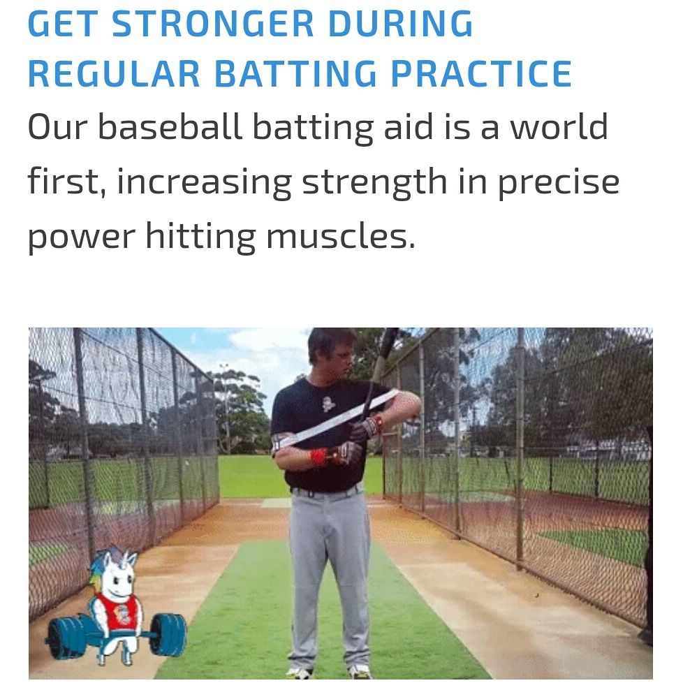 Throughout Your Baseball And Softball Swing Movement Of The Elbows Away From Your Body Creates An Outward Pushin Swing Trainer Baseball Workouts Batting Power