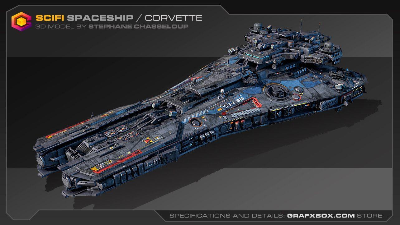 Spaceships Sci Fi