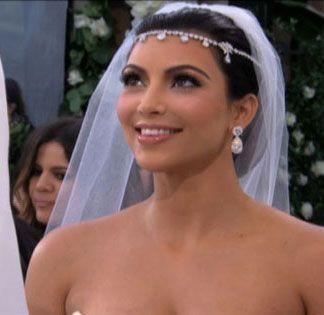Kim Kardashian S Wedding Makeup From Lancôme