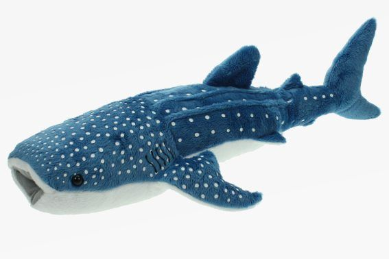 Plush mega whale shark (1) - #fish #mega #plush #shark #whale #whalesharks