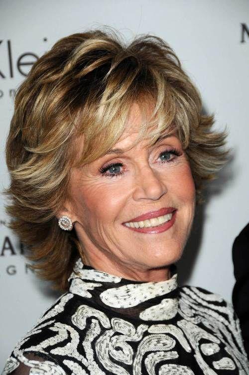 Short Layered Haircuts For Thick Hair Jane Fonda Google
