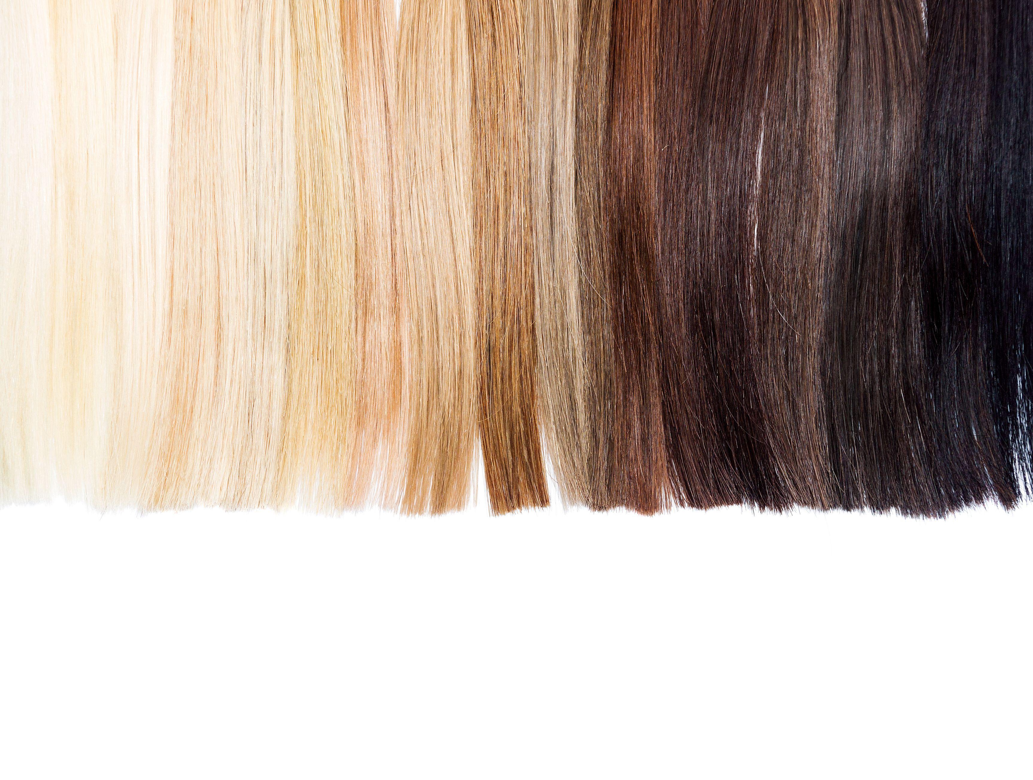 Hair Bleach Stages Www Miifotos Com