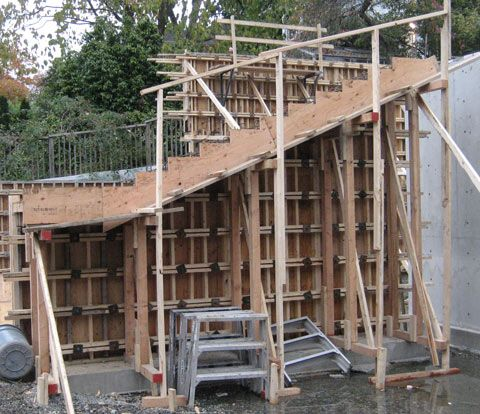 Best Cantilevered Concrete Stair Formwork Concrete Stairs 400 x 300