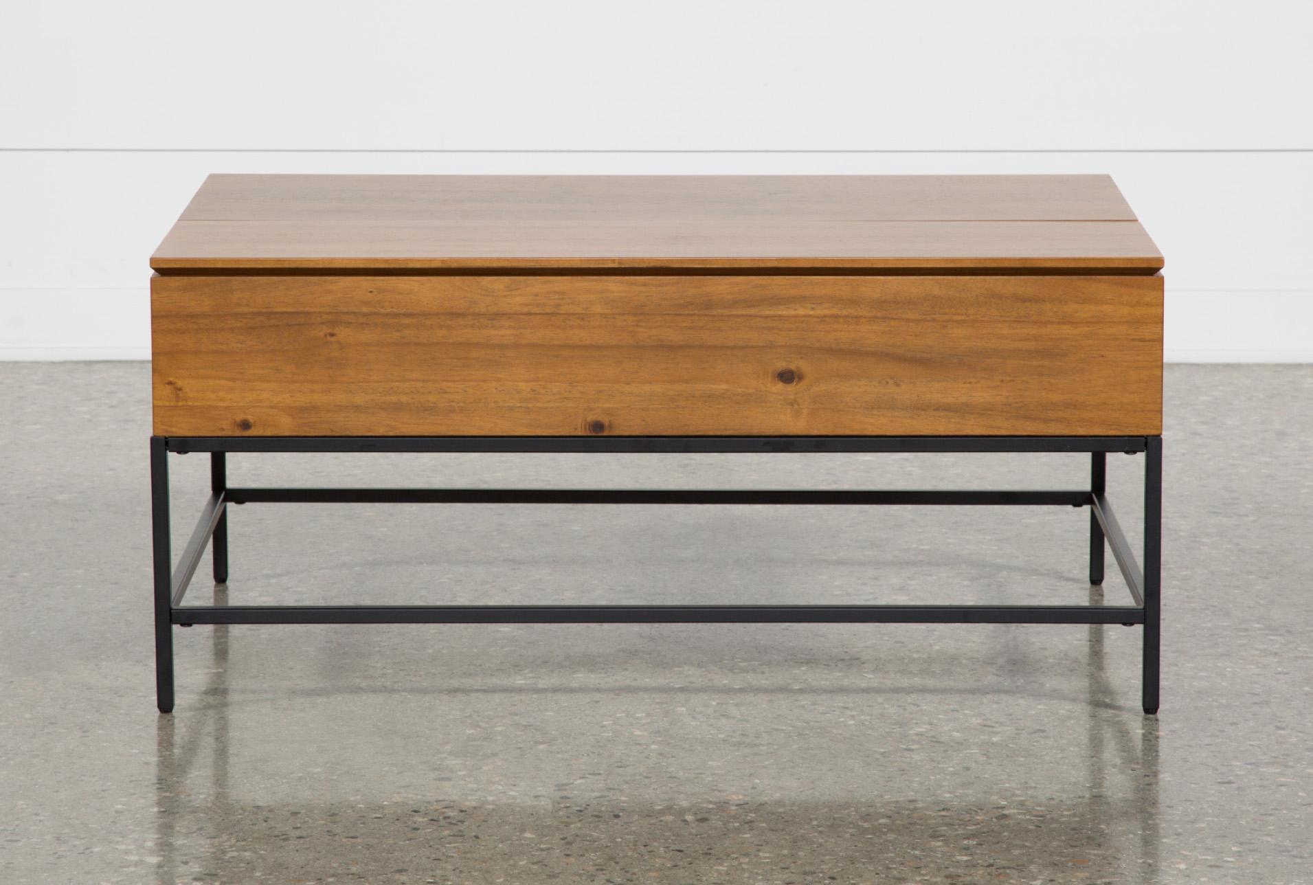 Hollis Lift Top Coffee Table Lift Top Coffee Table Coffee Table Coffee Table Living Spaces [ 1288 x 1911 Pixel ]