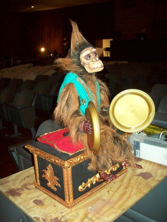 Monkey Box From Phantom Of The Opera Broadway Replica Remote Controlled
