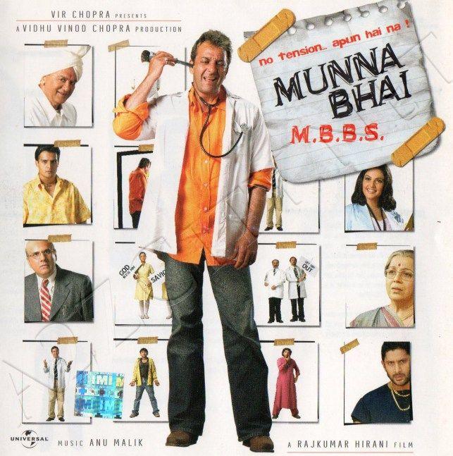 Munna Bhai M B B S  [2003 - FLAC] | Movie postrers | Bollywood songs