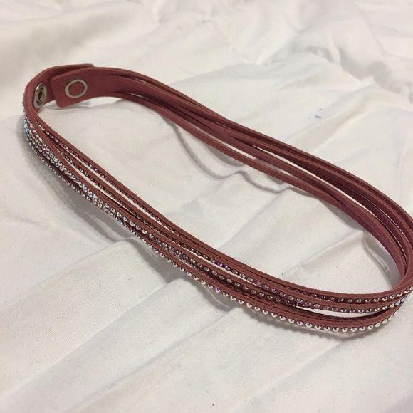 Swarovski bracelet Swarovski wrap around bracelet barely worn. Swarovski Jewelry Bracelets